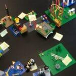 Strategi med legoklodser