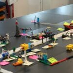 Lego på bord