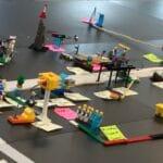 Projektlederuddannelse hvor der anvendes lego